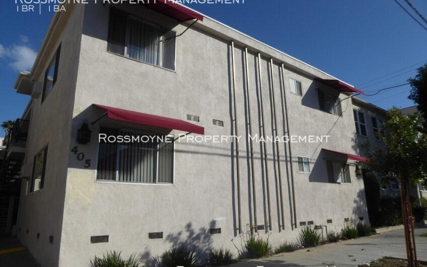 1br,1 Bath – Upper Unit Near the Americana in Glendale – 405 E. Harvard St – F
