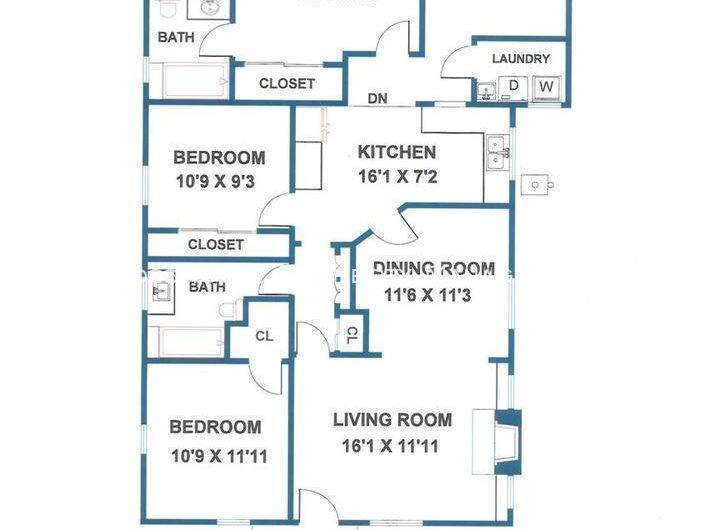 5071 Romaine St Floor Plan