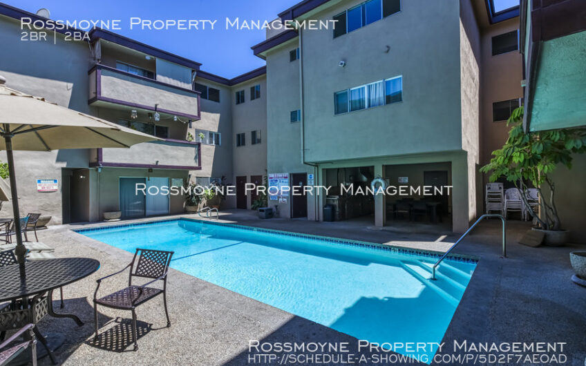 330 N. Jackson - 124 Glendale, CA 91206 Pool Area