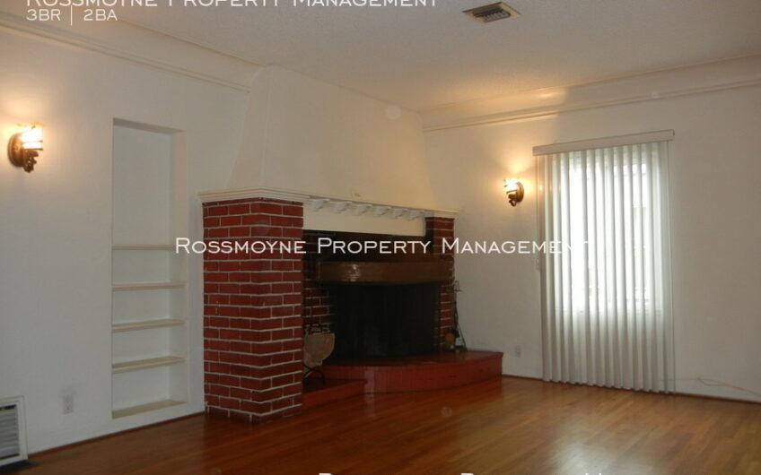 1014 N. Alexandria Ave Fireplace