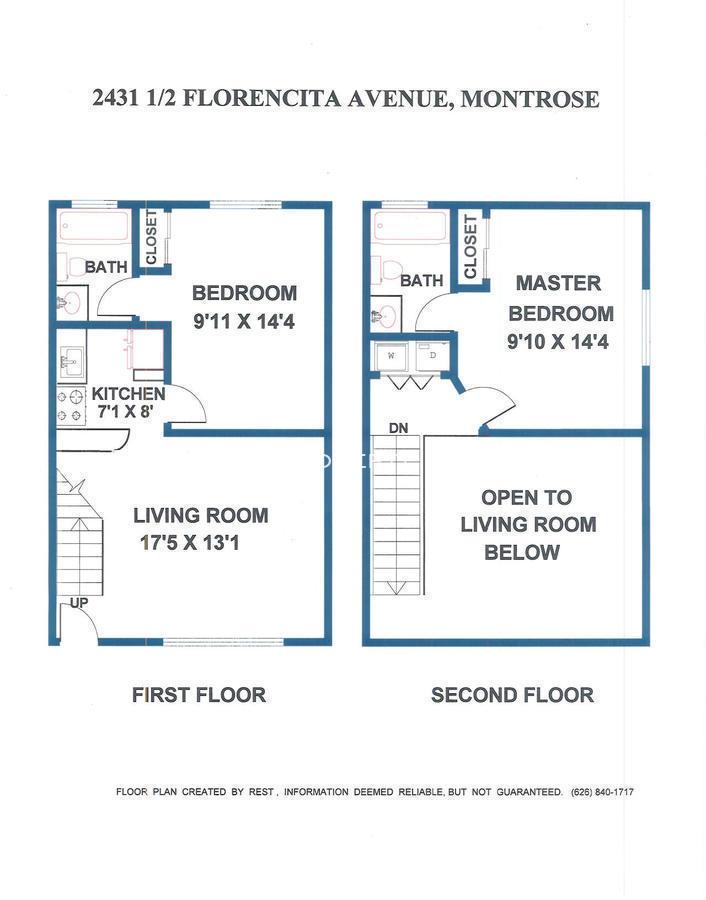 2431.5 Florencita Ave. Floor Plan